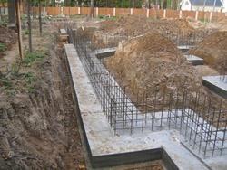 Строительство фундамента под ключ. Краснослободские строители.